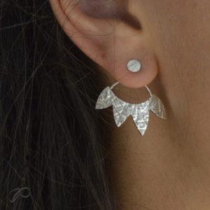 Boucles d'oreilles Couronne
