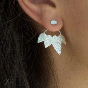 Boucles d'oreilles Feuillage