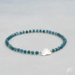 Bracelet lotus en Apatite
